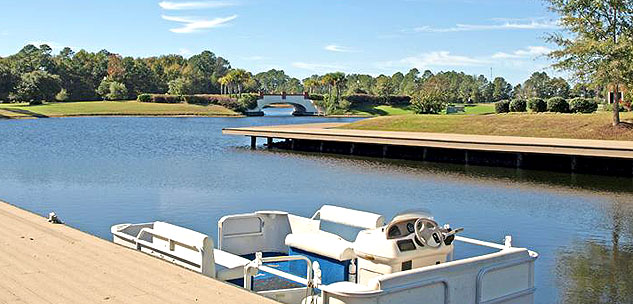 Wild Wing Lakes Boat Docks