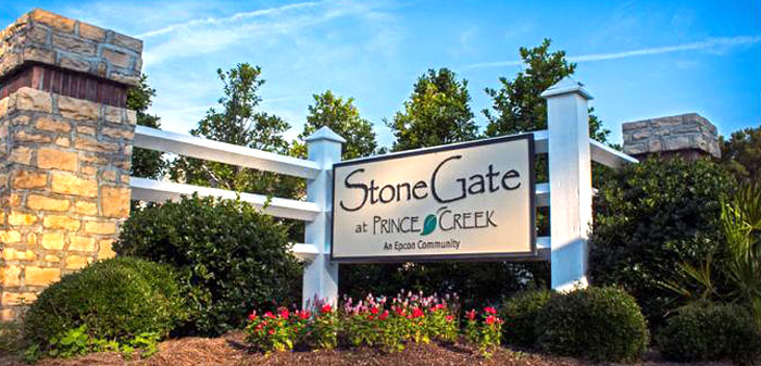 New Homes for Sale in StoneGate at Prince Creek