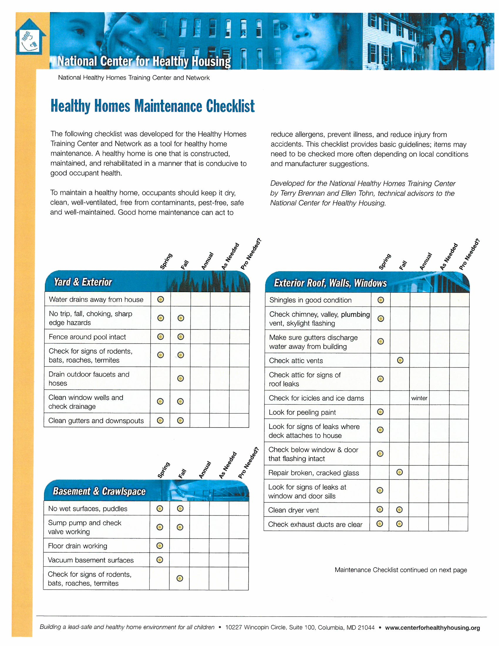 Property search for Home building checklist