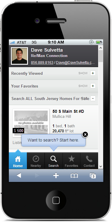 Dave Sulvetta Mobile Search