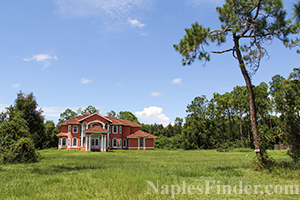 Naples Acreage Lake Homes