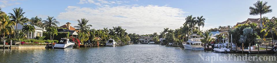 Aqualane Shores Real Estate in Naples FL