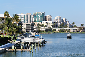Condos with boat dock in Naples FL