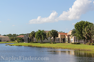 Naples Family Friendly Community Lake Homes