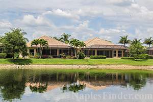Naples Gated Community Lake Homes
