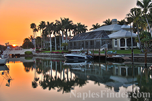 Homes with boat dock in Naples FL