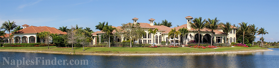 Lake View Homes for Sale in Naples FL