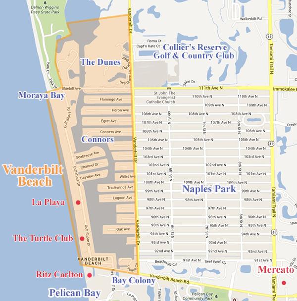 Vanderbilt Beach Community in Naples FL