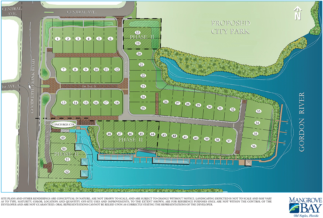 Mangrove Bay New Luxury Homes For Sale