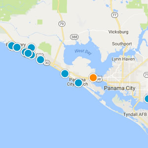 Panama city beach real estate site advanced search map search gumiabroncs Choice Image