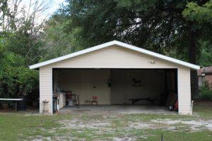 potential garage