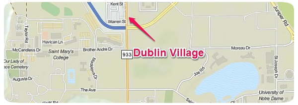 Dublin Village Location