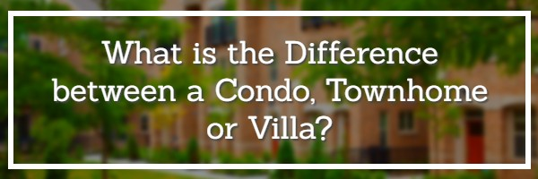 What is the difference between a condo and a townhome?