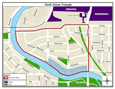 North Shore Triangle Map