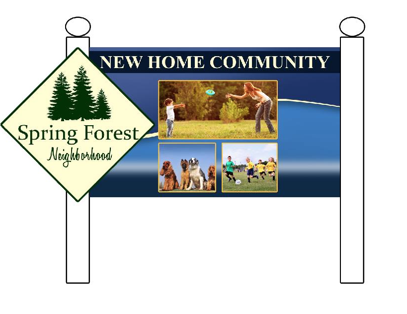 Spring Forest New Homes Goldsboro NC