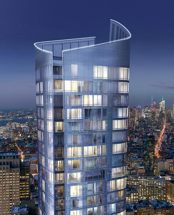 new york city luxury condo building