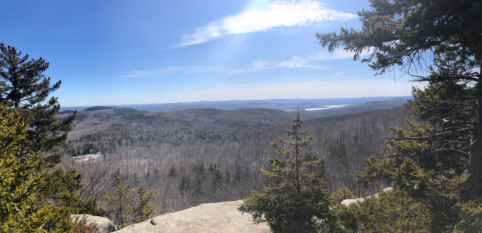 View from Copple Crown