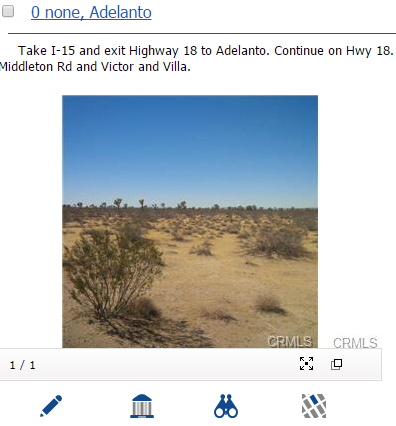 Adelanto Land for Sale