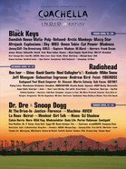 Coachella Line Up Small