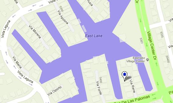 East Lake Village Map
