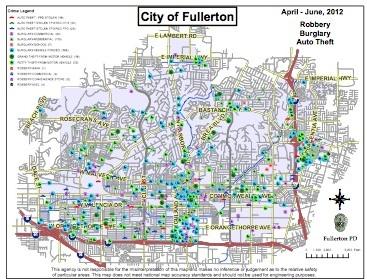 Fullerton Crime Map Thumb