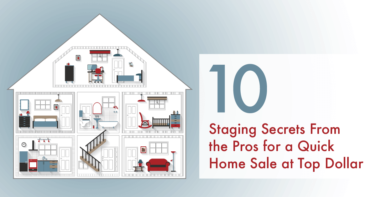 10 Staging Secrets From the Pros for a Quick Flagstaff Home Sale at Top Dollar