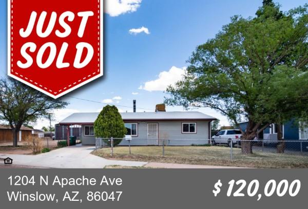 1204 N Apache Avenue, Winslow, AZ 86047