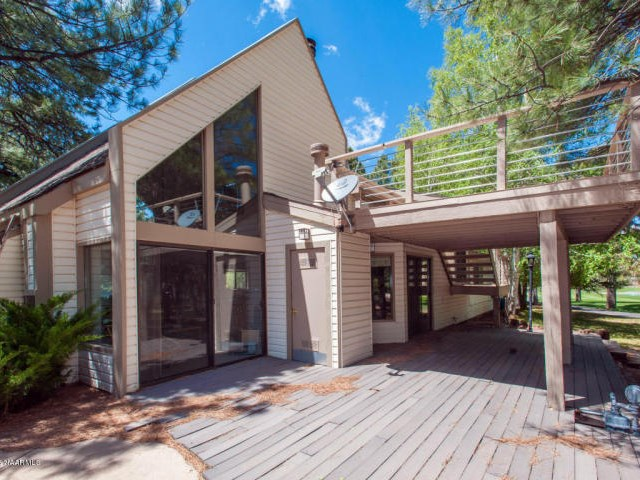 1301 N Royal Oaks WAY, Flagstaff, AZ deck