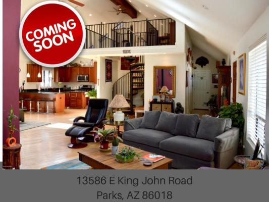 13586 E King John Road Parks, AZ 86018