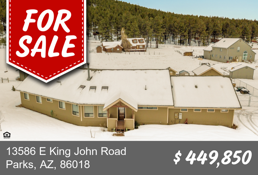 13586 E King John Road Parks, AZ 86018
