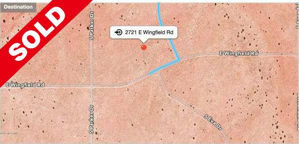 2721 E Wingfield RD Williams, AZ 86046