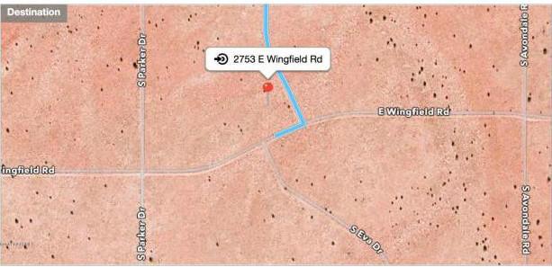 2753 E Wingfield RD Williams, AZ 86046