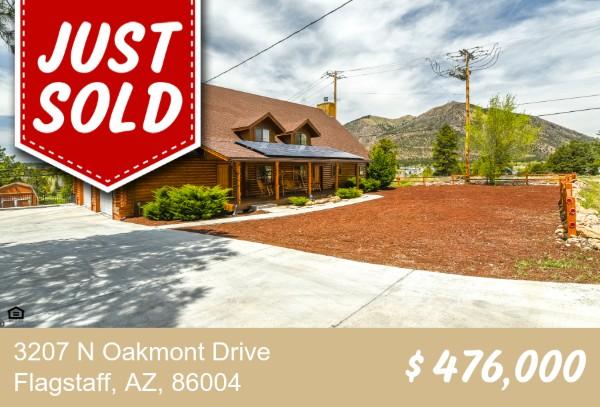 3207 N Oakmont Dr Flagstaff, AZ 86004 SOLD