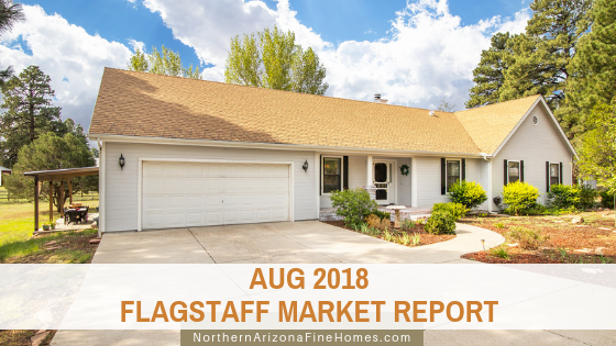 August 2018 Flagstaff Home Sales