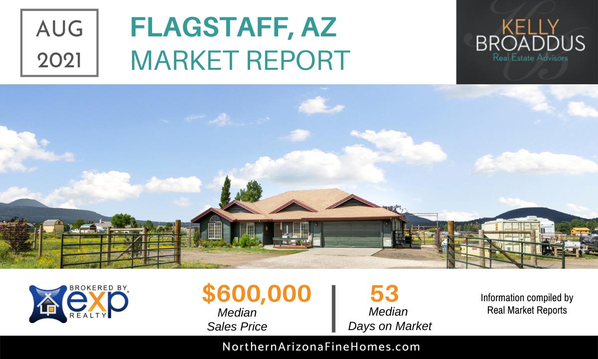 Aug 2021 Flagstaff Market Report