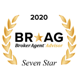 Broker Agent Advisor Seven Star Certificate of Excellence