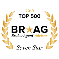 Broker Agent Advisor 2018 Excellence Award