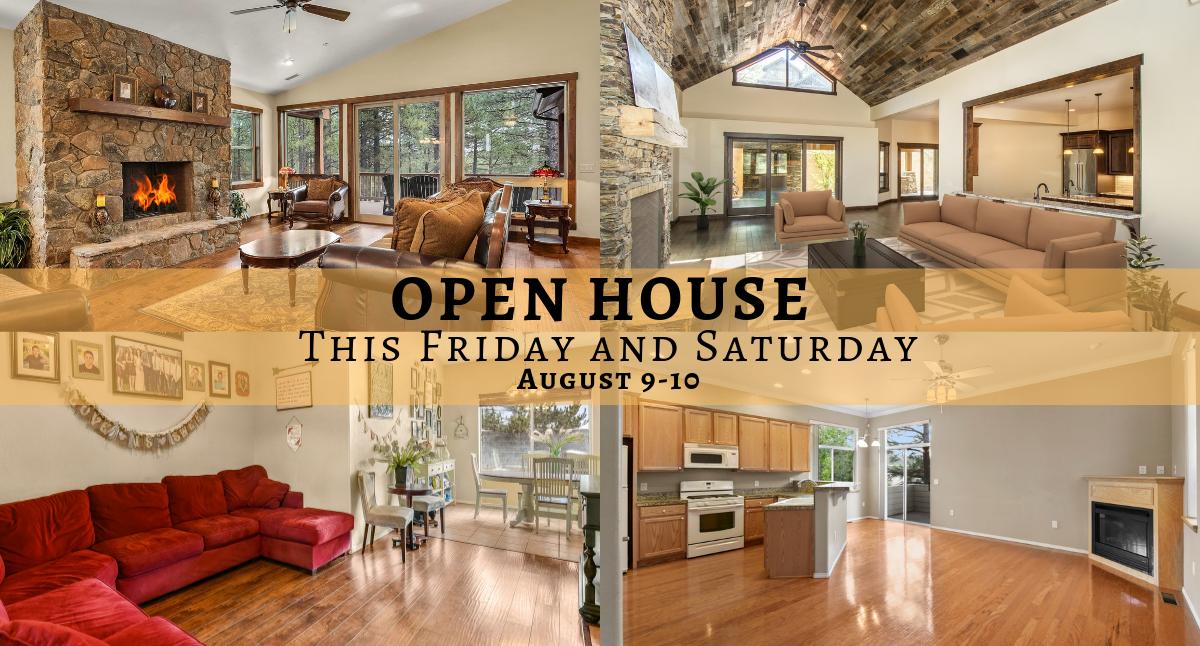 Flagstaff Open House Aug 9-10