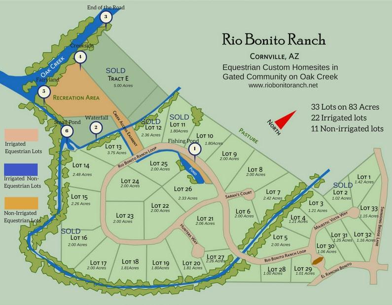 Cornville Map