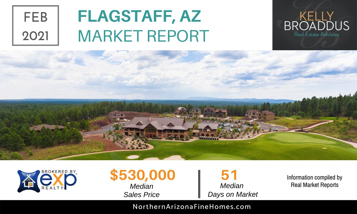 February 2021 Flagstaff Real Estate Market Statistics