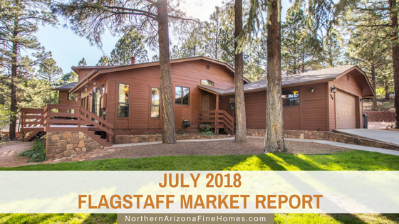 July 2018 Flagstaff Home Sales