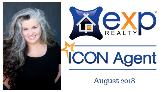 Kelly Broaddus ICON Agent Award eXp Realty