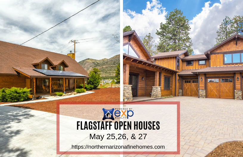 Best Flagstaff Open Houses This Weekend- May 25-27, 2019