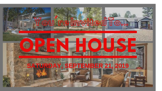 Open House Sept 21 2019