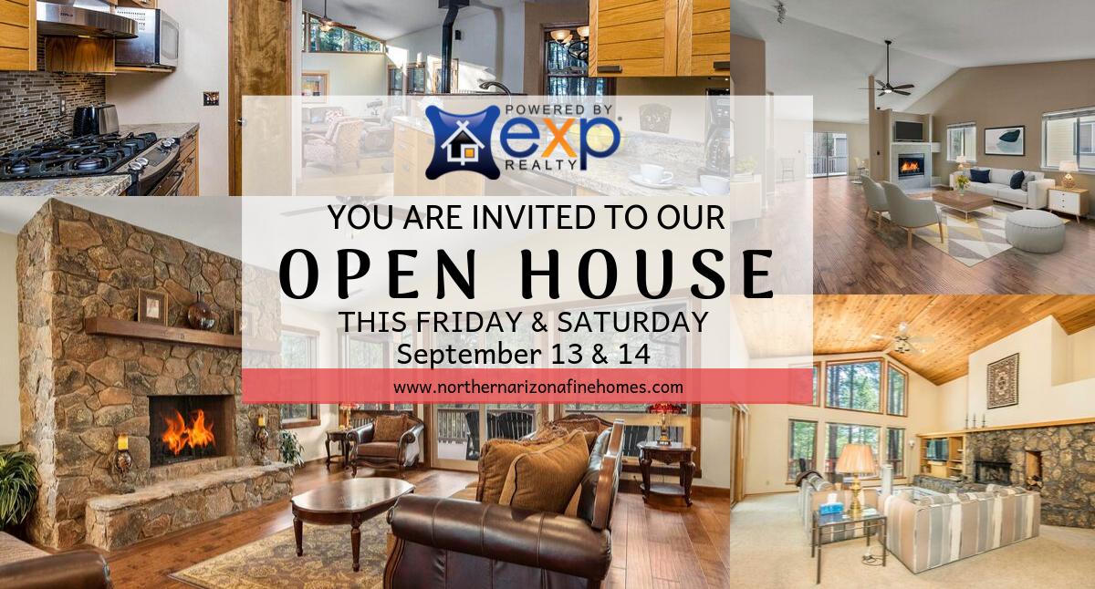 Flagstaff Open House Sept 13 & 14