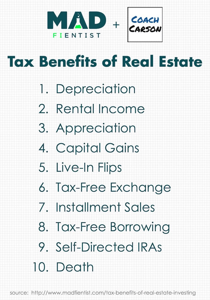 Tax Benefits of Real Estate Investing