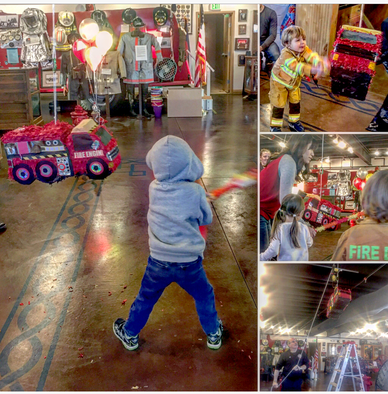 Fire Truck Birthday Party at the Windsor-Severance Fire Museum