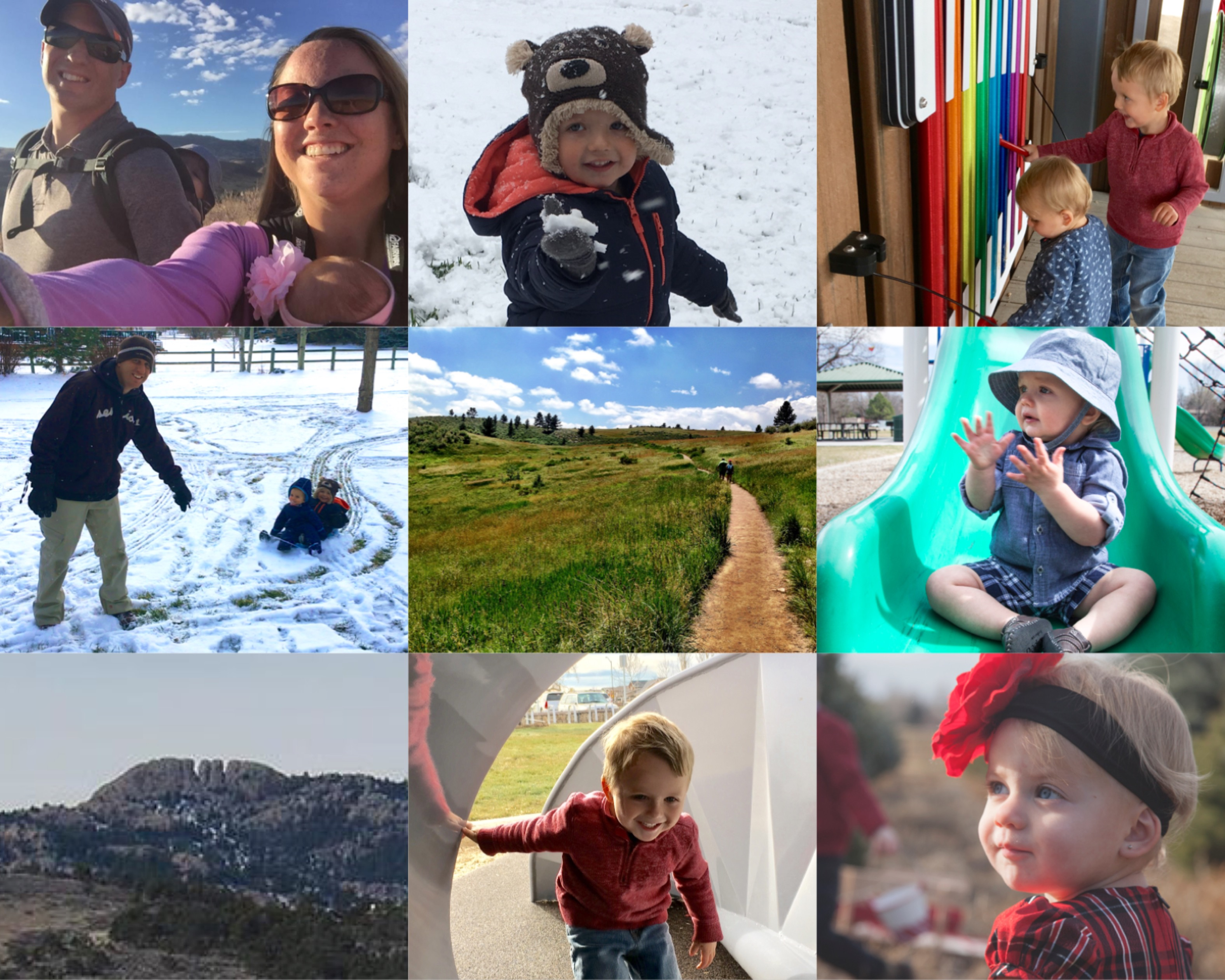 My Fort Collins Giveaway | Parks, family, children, playing in the snow, Fort Collins, home | Real Estate & Lifestyle in Northern Colorado, a blog by Joanna Gyrath, Realtor