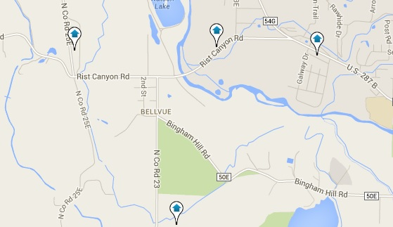 Bellvue Co Real Estate Search All Bellvue Co Homes