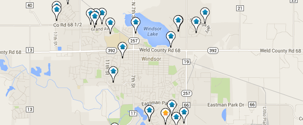 Click On The Map Below For An Interactive Search Of Windsor Homes